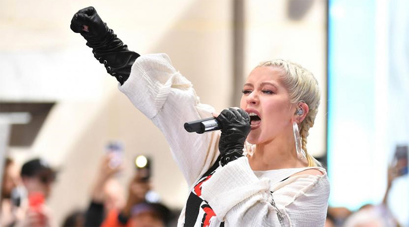 Christina Aguilera lanza su nuevo álbum, 'Liberation'