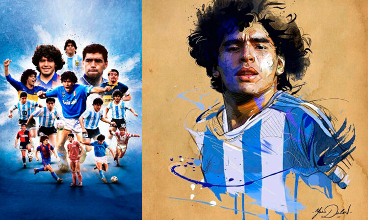 El mundo llora a Diego Armando Maradona