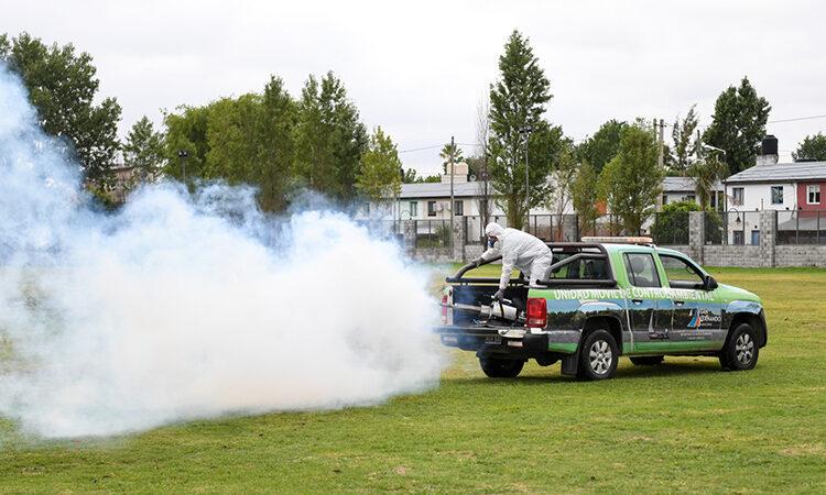 San Fernando realizó nuevos operativos de prevención contra el dengue y mosquitos